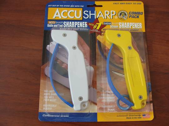Accusharp Knife & Tool & Shear Sharp Scissors Sharpener