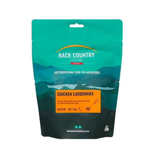 Back Country Cuisine Chicken Carbonara 2 Serve/Regular