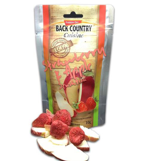 Back Country Cuisine Strawberry & Apple Sensation Gluten free 10g