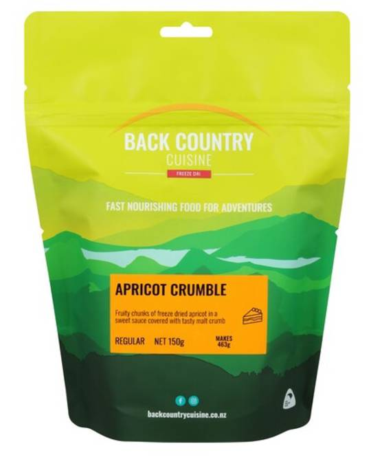 Back Country Cuisine Apricot Crumble Regular