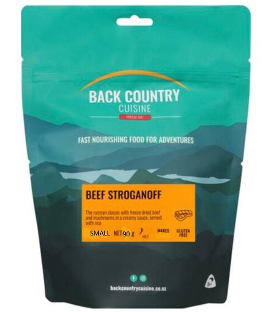 Back Country Cuisine Beef Stroganoff SMALL