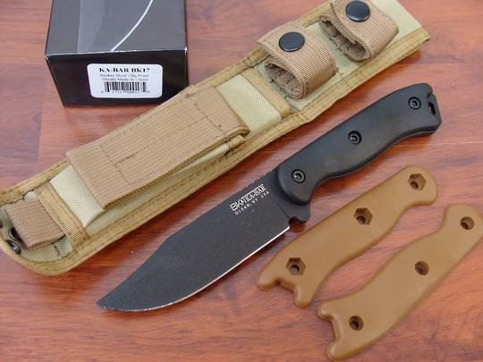 Ka-Bar BK17 Short Clip Point Knife