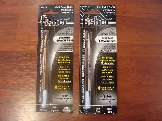 Fisher Space Pen Refill Black Ink