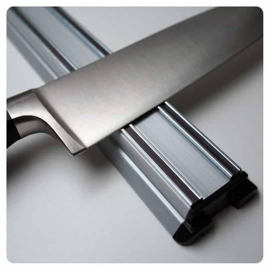 Bisbell Bisigrip Silver Magnetic Knife Rack 45cm