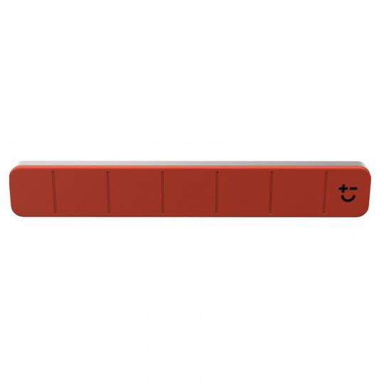 "Bisbell Magmates Magnetic Knife Rack 30cm or 12"" - Red"