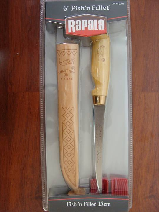 "Rapala Fish 'n Fillet Knife 6"" / 15cm"