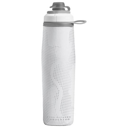 Camelbak Peak Fitness Chill 24 oz Bottle, Insulated White Silver