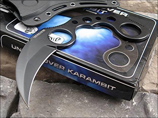 United Cutlery Karambit Knife Black