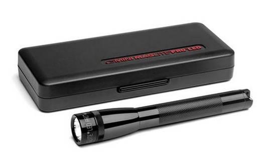 MAGLITE Mini PRO + LED Flashlight 245 Lumens - Black