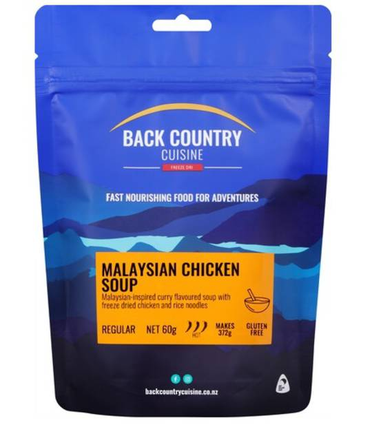 Back Country Cuisine Malaysian Chicken Soup Gluten Free Regular