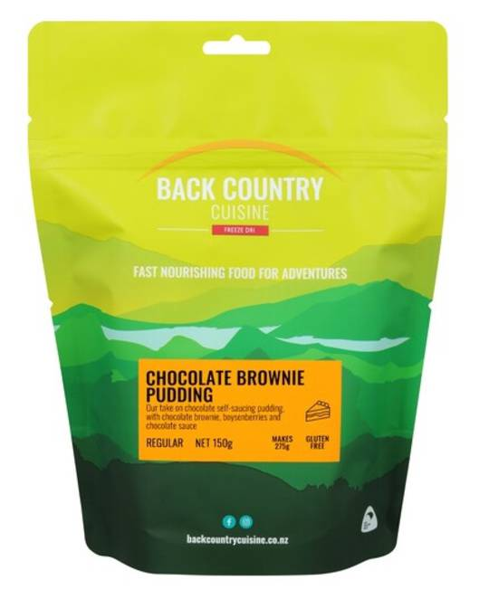 Back Country Cuisine CHOCOLATE BROWNIE PUDDING - GLUTEN FREE