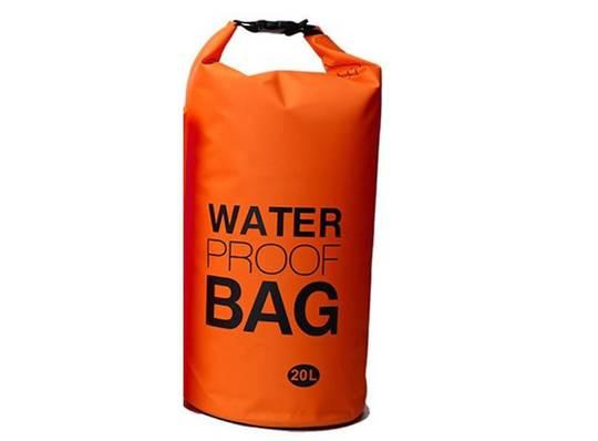 Waterproof tube style dry bag 20L Lightweight