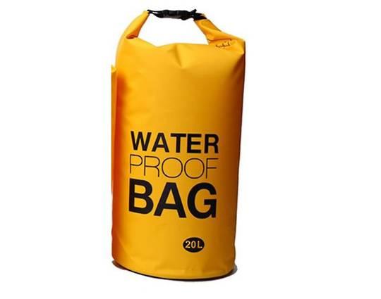 Waterproof tube style dry bag 20L