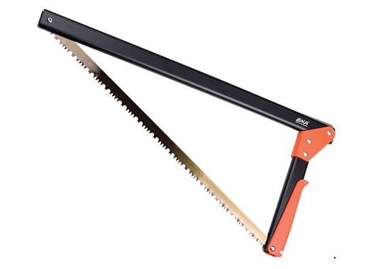 EKA Viking Combi Compact Saw 17 Inches Black w/Orange Handle