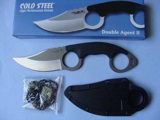 Cold Steel Double Agent II Knife