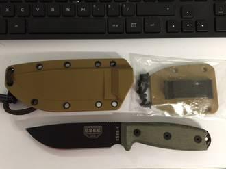 ESEE Model 4 Plain Edge Knife