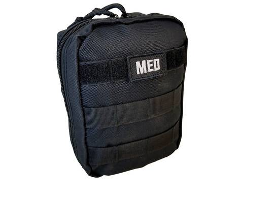 Elite 1st Aid Tactical Trauma Kit #1 - BLACK