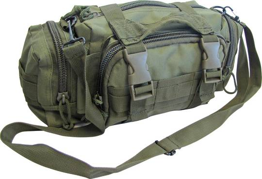 Elite 1st Aid First Aid Rapid Response Trauma Bag #1 - OD GREEN