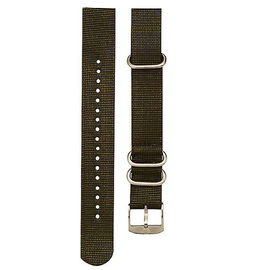 Luminox Military Nato Strap Green 3-Loop Band