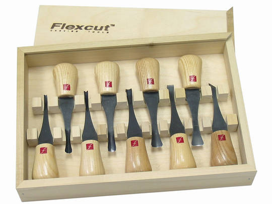 Flexcut FR405 Deluxe Palm Tool Sets
