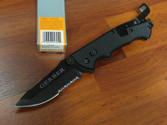 Gerber Hinderer CLS black Knife