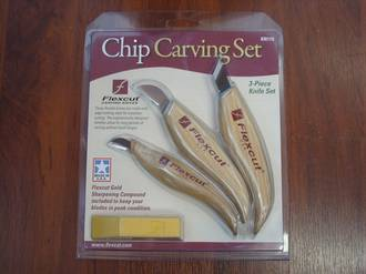 Flexcut KN115 Chip Carving Set