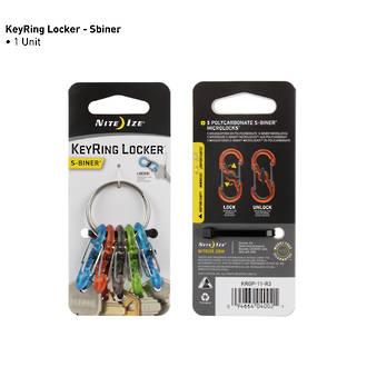 Nite Ize Keyring Locker S-Biner