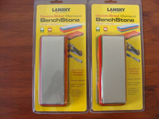 Lansky Double-Sided Diamond BenchStone