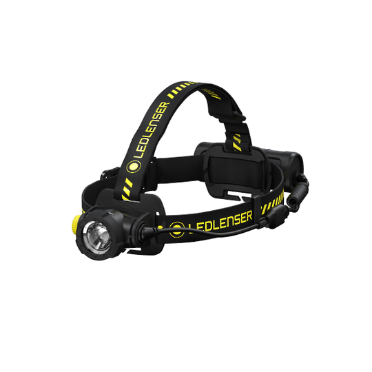 LED LENSER H7R Work Rechargeable Headlamp 1000 lumens