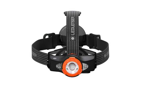 Led Lenser Rechargeable MH11 Headlamp 1000 lumens - black/orange