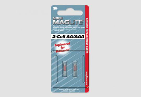 Maglite 2 Cell AA/AAA Xeon Replacement Bulbs