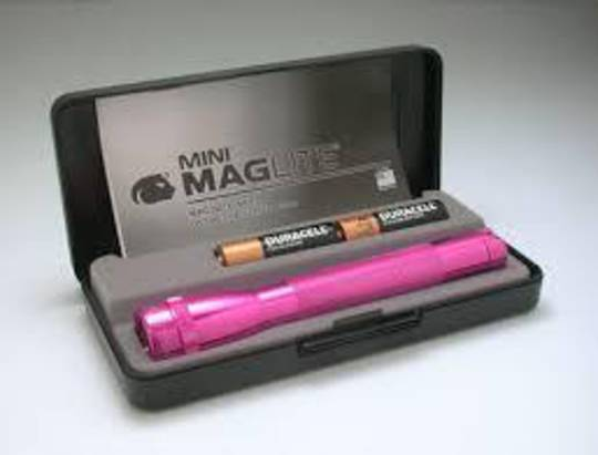 Maglite AA Torch Gift Box Pink