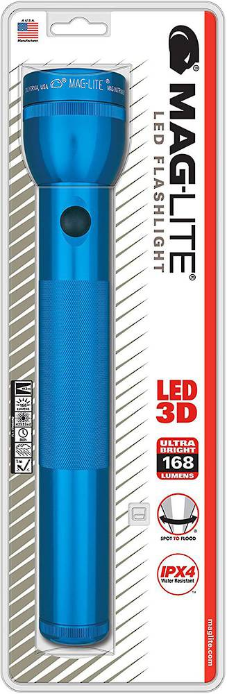 Maglite LED 3 D Cell Torch - Blue