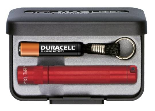 Maglite Solitaire Torch - Red