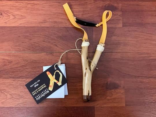 Nosferatu Pocket Hare Remover Slingshots Handmade N06