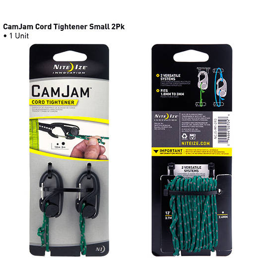 Nite Ize Camjam Cord Tightener 2 Pack