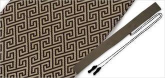 Hanwei Japanese Sword Bag - Fret Pattern  - OH2480