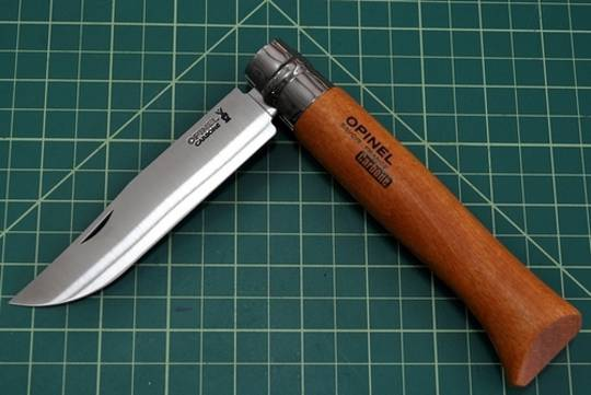 Opinel No. 12 Carbon Steel Folding Knife