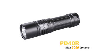 Fenix 3000 Lumens Rechargable LED Flashlight - PD40R