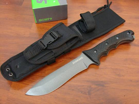 Schrade Extreme Survival Fixed Knife