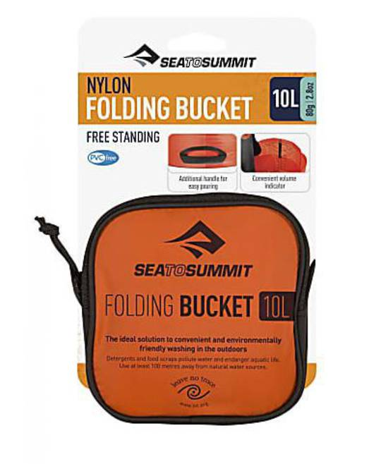 Sea to Summit Nylon Folding Bucket 10L