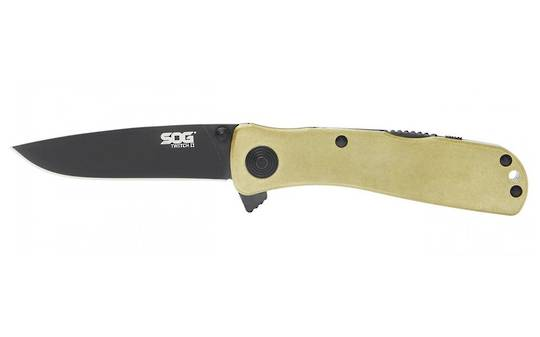 SOG Twitch II Assisted Knife Brass