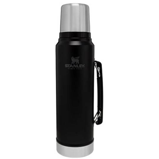 Stanley Classic Legendary  Bottle Vacuum Flask 1L - Black