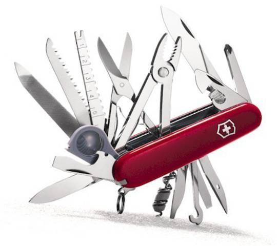 Victorinox Swisschamp Swiss Army Knife Red