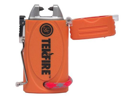 UST TekFire™ PRO Fuel-Free Lighter, Orange