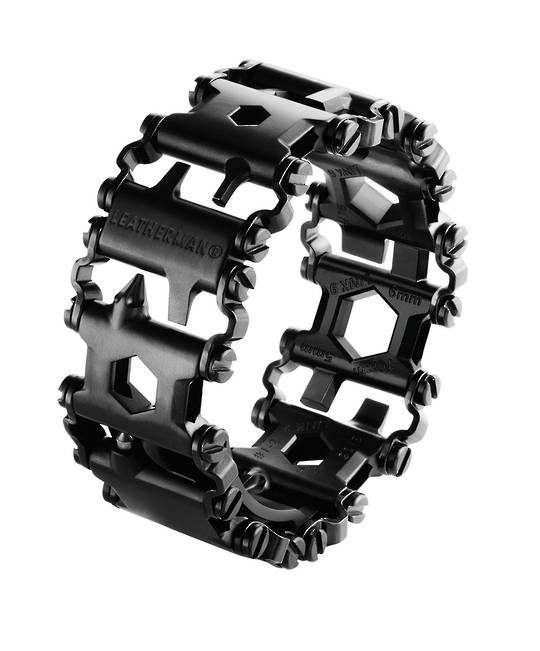 LEATHERMAN TREAD THE TRAVEL FRIENDLY WEARABLE MULTI-TOOL - BLACK
