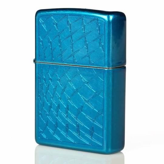 Zippo Iced Diamond Plate Lighter