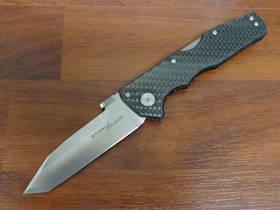 Cold Steel Storm Cloud Folding Knife CPM-20CV Tanto Blade, G10 / Carbon handles