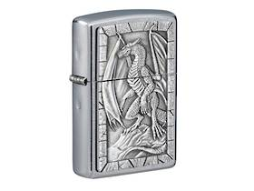 Zippo Dragon Emblem Design Lighter