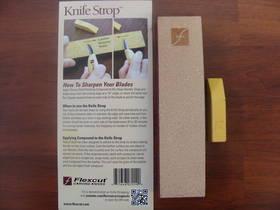 Flexcut Knife Strop W/ Compound - PW14